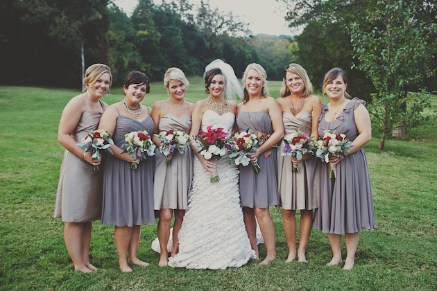 Vintage Carnival Chic Wedding In Tennessee
