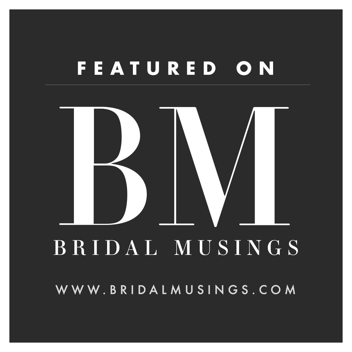 Image result for bridal musings logo