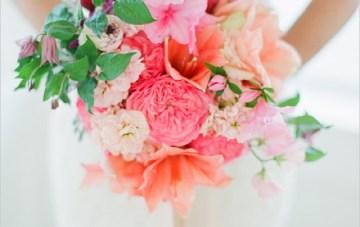 Red & Pink Bouquet   Lauren Kinsey Fine Art Wedding Photography