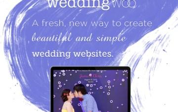 Create Beautiful & Simple Wedding Websites With WeddingWoo