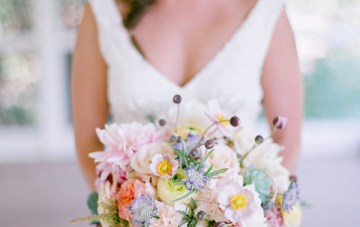Pastel Rustic Chic Wedding   Laura Murray Photography   Bare Root Flora 41