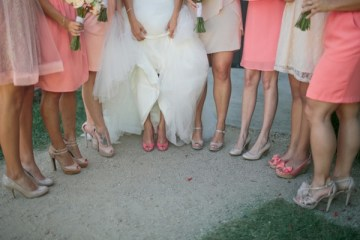 Pink, Peach & Coral Summer Wedding | Troy Grover Photographers 17