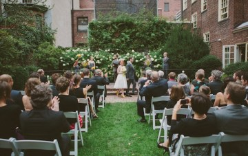 Retro Grey and Yellow Garden Wedding   With Love And Embers 33