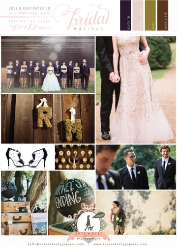Rose-&-Ruby-Wedding-Inspiration-Board-12-Black-White-Moss-Green