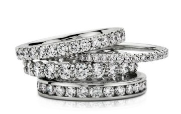 Platinum Wedding Rings From Blue Nile: What's Your Wedding Band Style?
