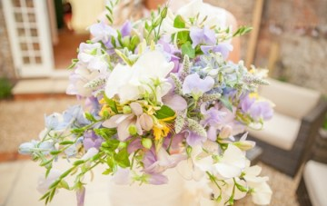 Pretty Pastel English Garden Wedding   Yellow Bird Photography 33