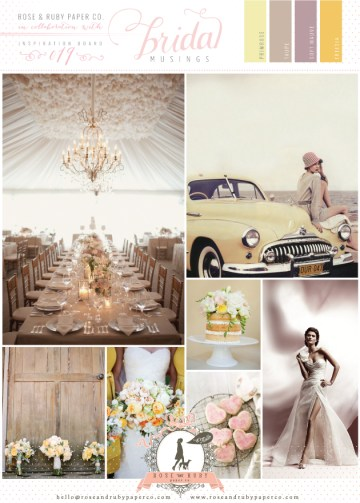 Rose-&-Ruby-Wedding-Inspiration-Board-19-Vintage-50s-Yellow-Blush