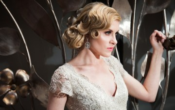 1920s Luxe Black & Gold Wedding Inspiration