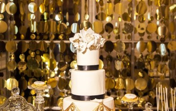 Black and Gold Wedding Inspiration by Perfect Events at The Connaught Hotel, London 21