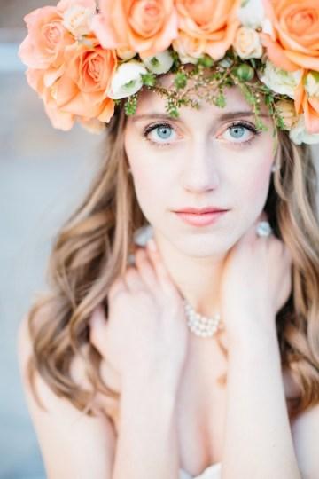 Orange Wedding Inspiration – Lora Grady Photography 18