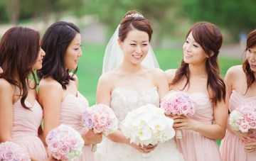 elegant pink and purple wedding   Closer To Love Photography 25
