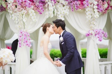 elegant pink and purple wedding | Closer To Love Photography 30