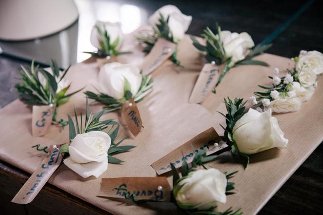 Cornflower Blue English Garden Wedding