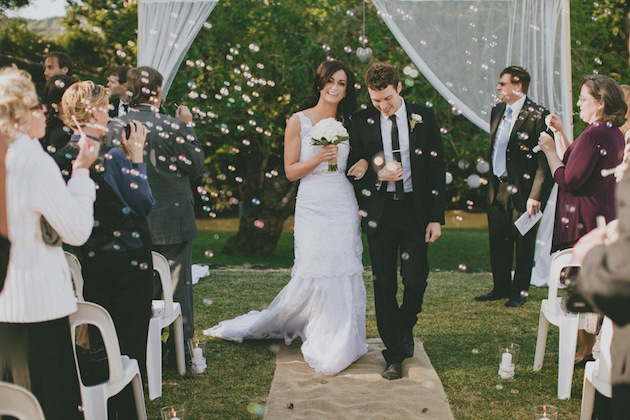 Intimate, Rustic & Elegant Wedding In Australia