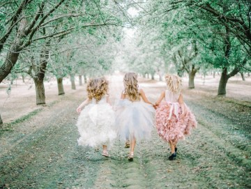 Couture Flower Girl Dresses by Amalee Accessories   Mariel Hannah Photography 17