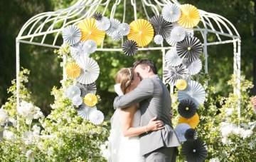 Grey and Yellow Pinwheel wedding   Kaysha Weiner Photographer 11