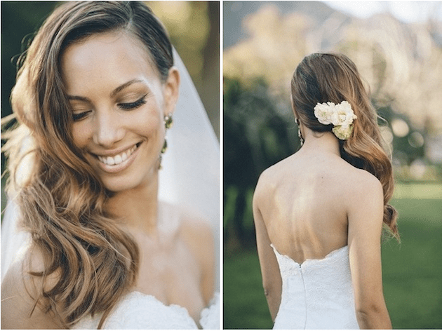 Wedding Hairstyles Side Swept Waves Inspiration And Tutorials