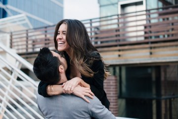 City Chic Engagement Shoot in Denver | Lori Kennedy Photography | Bridal Musings 28
