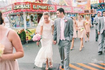 DIY Backyard Wedding | Carnival Wedding | Lauren Fair Photography 22