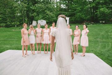 DIY Backyard Wedding | Carnival Wedding | Lauren Fair Photography 31