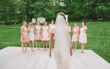 DIY Backyard Wedding   Carnival Wedding   Lauren Fair Photography 31