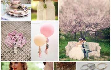 Lilac Garden Party Wedding Inspiration Board