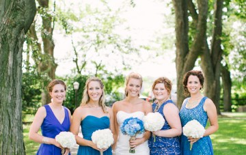 Rustic Blue Wedding   Andrew Mark Photography   Bridal Musings 45