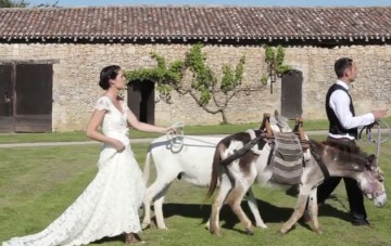 Destination Wedding Film in France By Bubble Rock