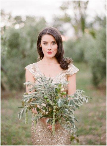 Gold Wedding Dress by Zhavit Tshuba | Gert Huygaerts Photography 14