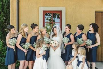Navy and Peach Wedding | Anita Martin Photography | Bridal Musings 42
