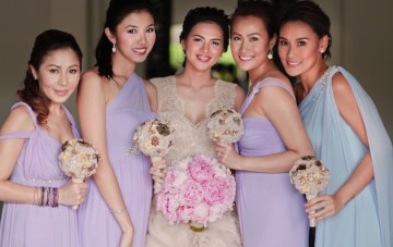 Romantic, Opulent, Pastel Wedding In The Philippines