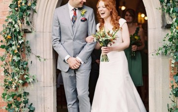 Autumn Wedding | Film Wedding Photography by Depict Photography | Bridal Musings 12