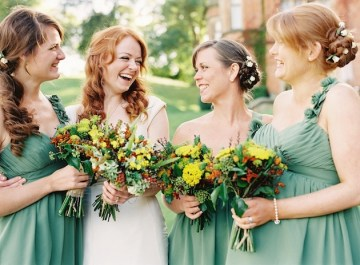 Autumn Wedding | Film Wedding Photography by Depict Photography | Bridal Musings 20