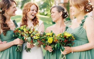 Quite Possibly The Most Gorgeous Fall Wedding Ever!
