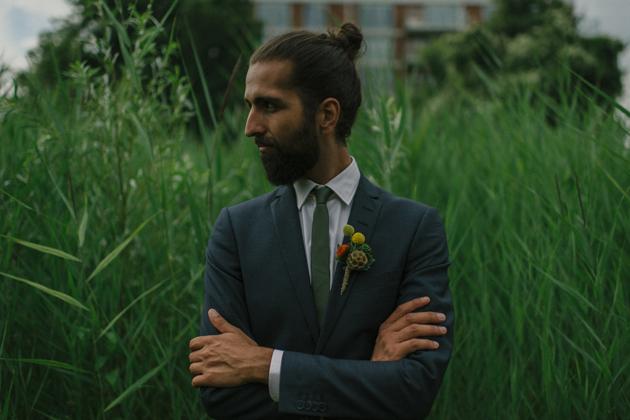 Intimate, Bohemian Wedding in A Meadow
