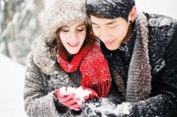 Snowy Engagement Shoot in Canada | Nadia Hung Photography | Bridal Musings Wedding Blog26