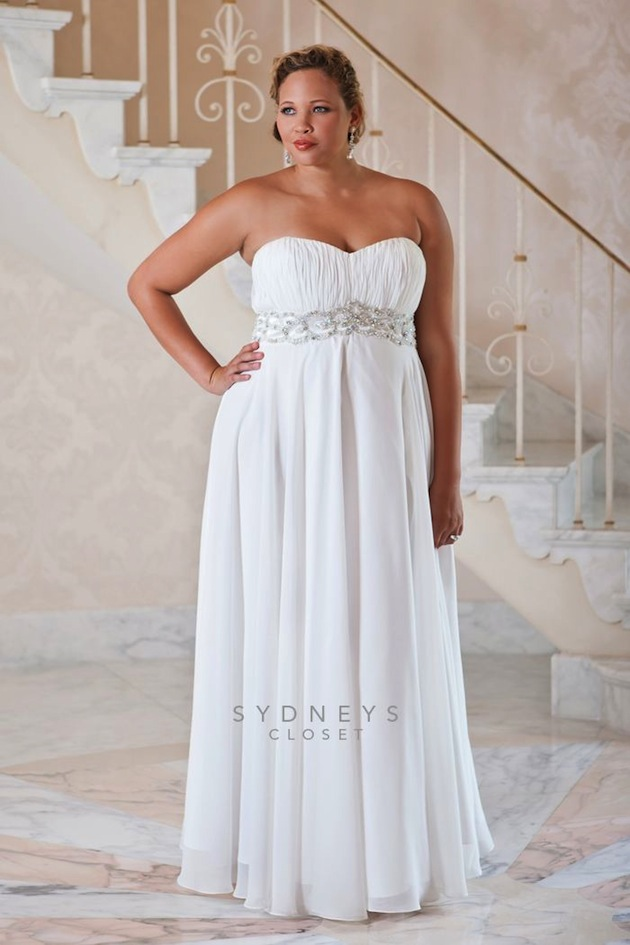 9013465c369e9 The wedding dress collection is perfect for plus sized brides with petite  budgets.