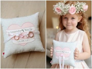 Pink and Grey Polka Dot Wedding   Dasha Caffrey Photography   Bridal Musings Wedding Blog 1