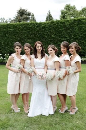 Pink and Grey Polka Dot Wedding | Dasha Caffrey Photography | Bridal Musings Wedding Blog 19