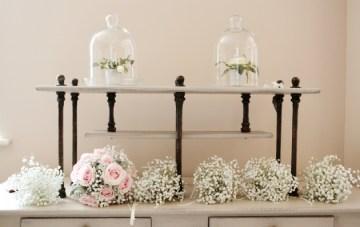 Pink and Grey Polka Dot Wedding   Dasha Caffrey Photography   Bridal Musings Wedding Blog 36