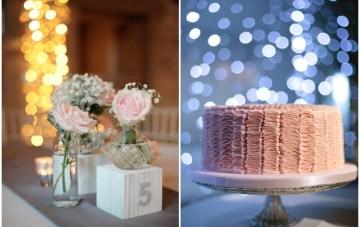 Pink and Grey Polka Dot Wedding   Dasha Caffrey Photography   Bridal Musings Wedding Blog 7