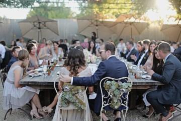 Reem Acra wedding dress | chic California wedding | Traci Griffin Photography | Bridal Musings 63
