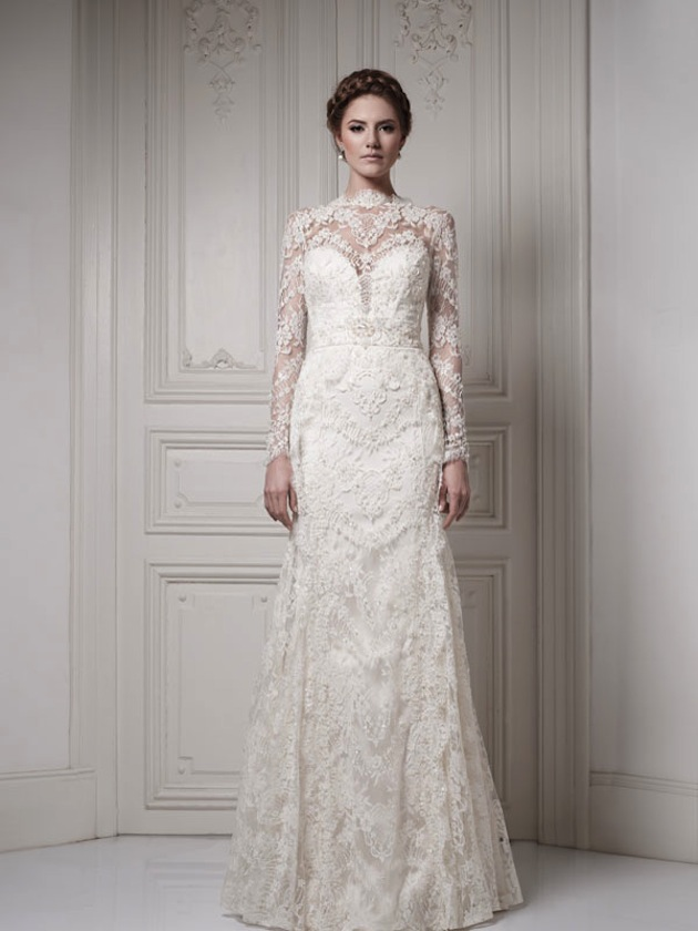 e1aa834196 30 Gorgeous Lace Sleeve Wedding Dresses