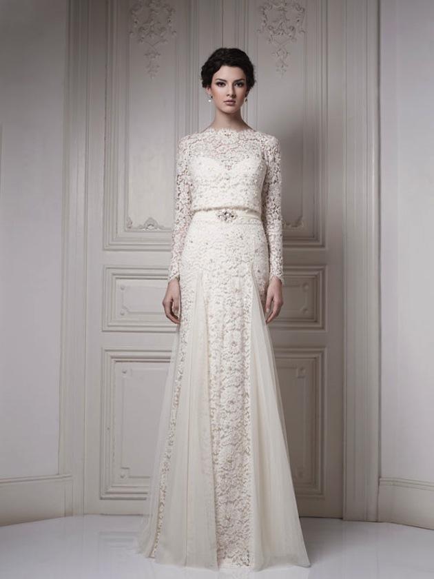 Lace Wedding Dress Traditional