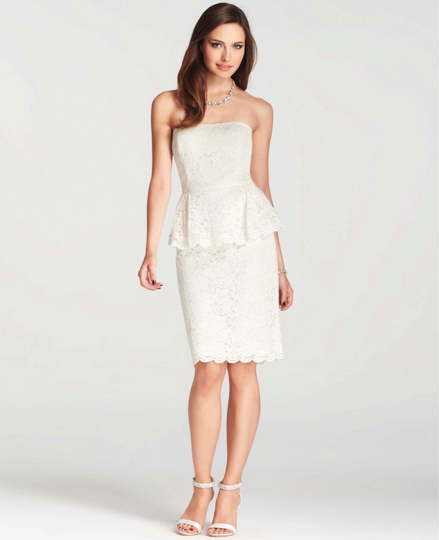 Ann Taylor S Chic New Wedding Collection Bridal Musings