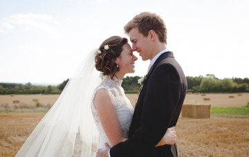 A Beautiful English Wedding With A Rustic, Mediterranean Feel