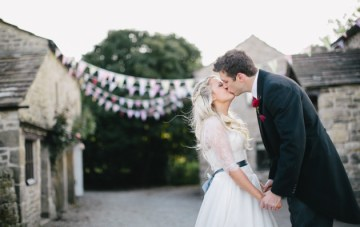 Festival-Themed Wedding, Glamping In The English Countryside