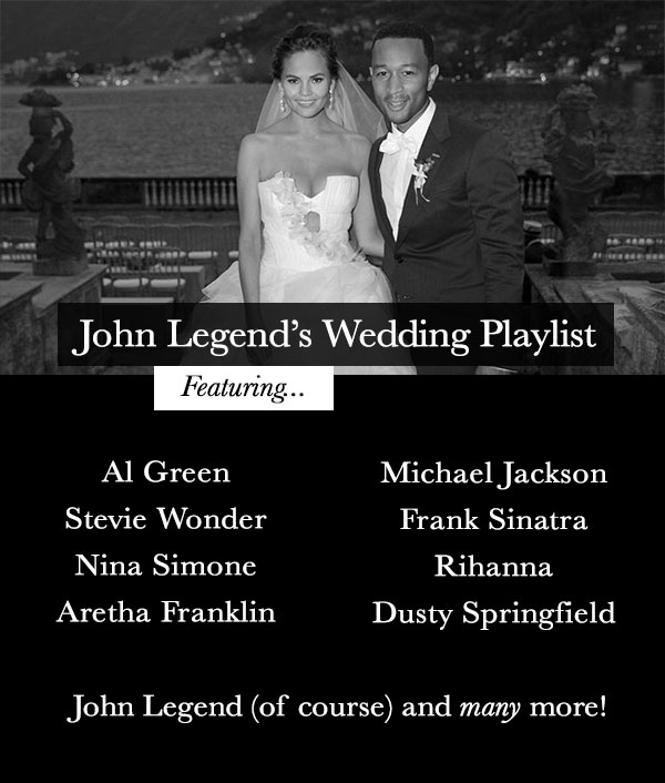 Ultimate R N' B Wedding Playlist By John Legend