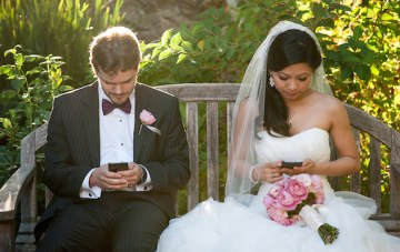 Rustic Elegance; A Laid-Back California Wedding with a Few Geeky Twists
