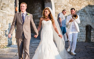 Chic and Romantic Destination Wedding in Croatia